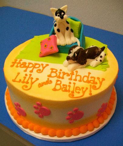 Dog Birthday Cake Mn