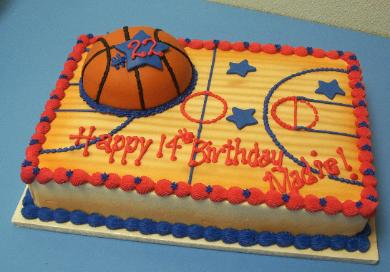 Pictures Of Chicago Bulls Cakes